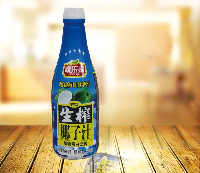 鸡西椰子汁 PET收缩膜标签